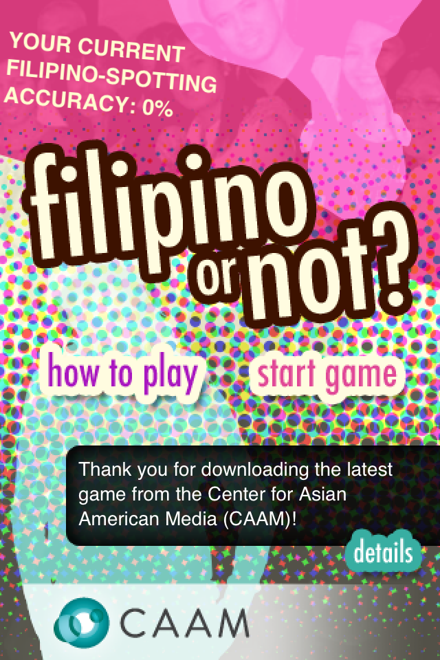 Thoughts on Interactive Guessing Game, Filipino orNot?