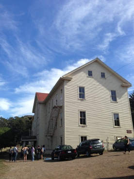 View of one of the Headlands Buildings (this is where the Mess Hall is located - The food was great!)