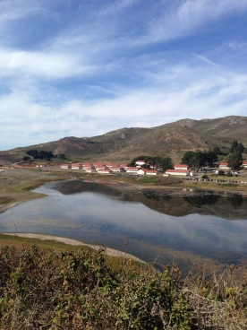 Walking to Rodeo Beach, this was our lovely view on our hike.